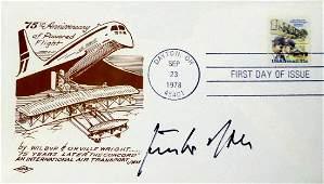 German Air Ace GUNTHER RALL - Postal Cvr Siged