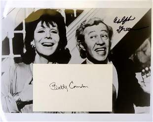 Songwriters BETTY COMDEN and ADOLPH GREEN - Signatures
