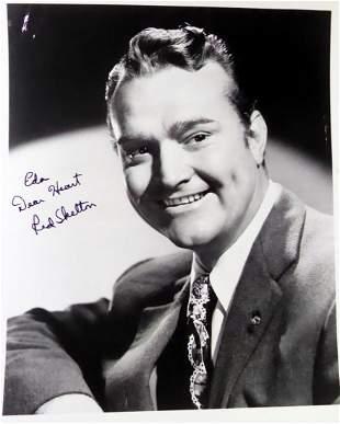 Comedian RED SKELTON - Photo Signed