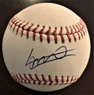 Guerrero Jr,Vladimir Signed Baseball
