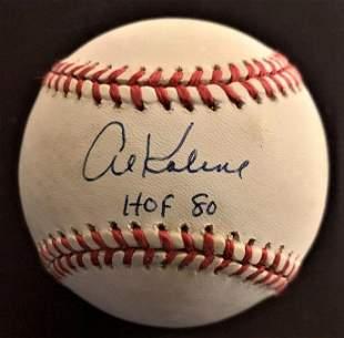 Kaline,Al Signed Baseball
