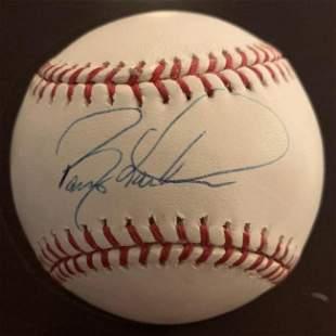 Larkin,Barry Signed Baseball