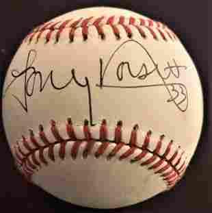 Dorsett,Tony Signed Baseball