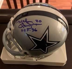 Renfro, Mel Signed Mini Helmet