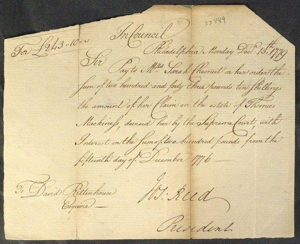 23: Jurist JOSEPH REED - Document Signed