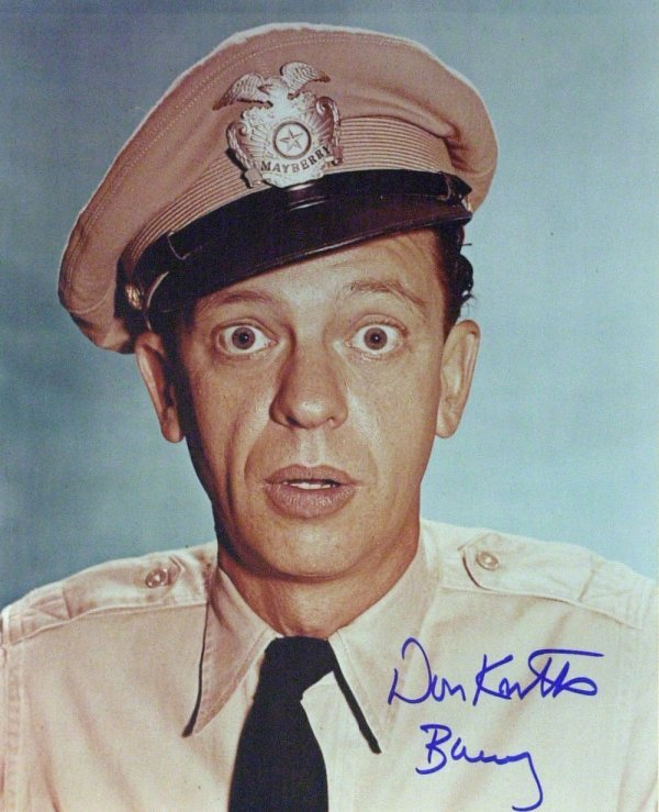 922: ANDY GRIFFIN, DON KNOTTS & FRANCES BAVIER - 2