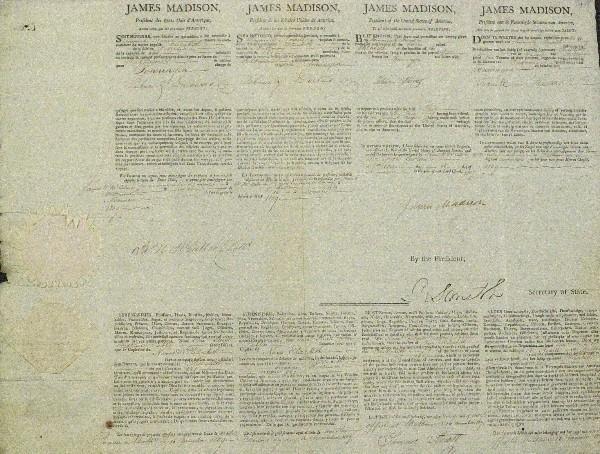 25: James Madison Ships Paper
