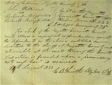 256: Secy Interior Caleb Smith - Legal Document