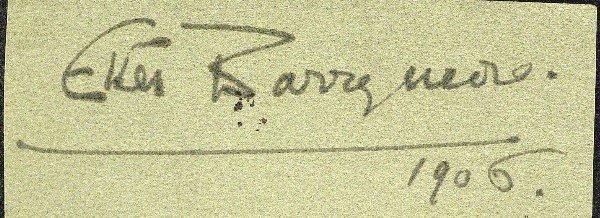 574: Actress Ethel Barrymore - Cut