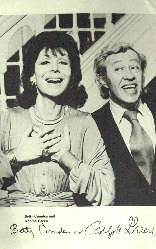 577: Betty Comden & Adolph Green -  Photograph