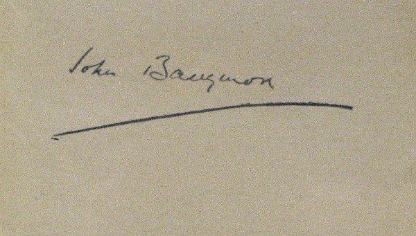 595: John Barrymore - Album Page