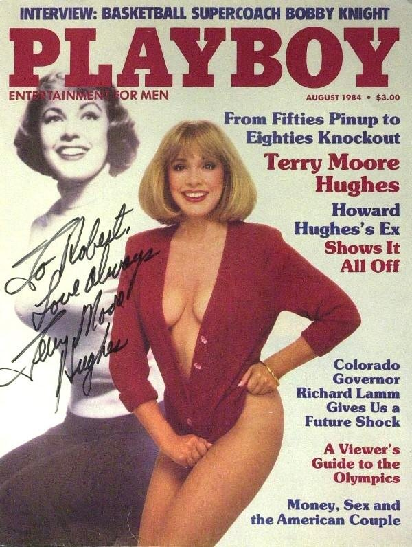 747: Mrs Howard Hughes Terry Moore-Playboy Cover