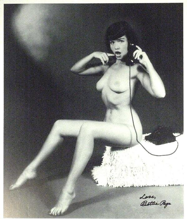 764: Bettie Page - Large Nude Photograph