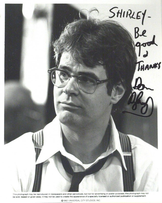 3: SNL Comic DAN AKROYD - Photo Signed