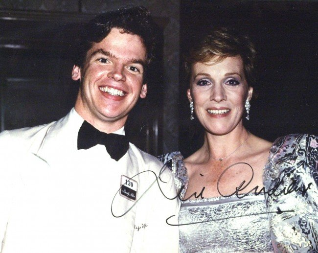 8: British Actress JULIE ANDREWS - Original Photo