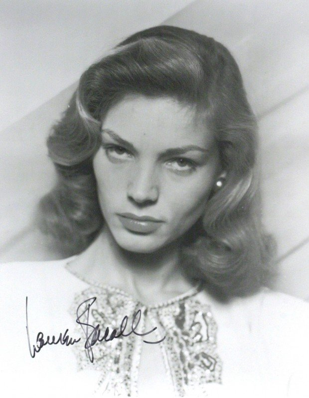 14: Actress LAUREN BACALL-Vintage Image