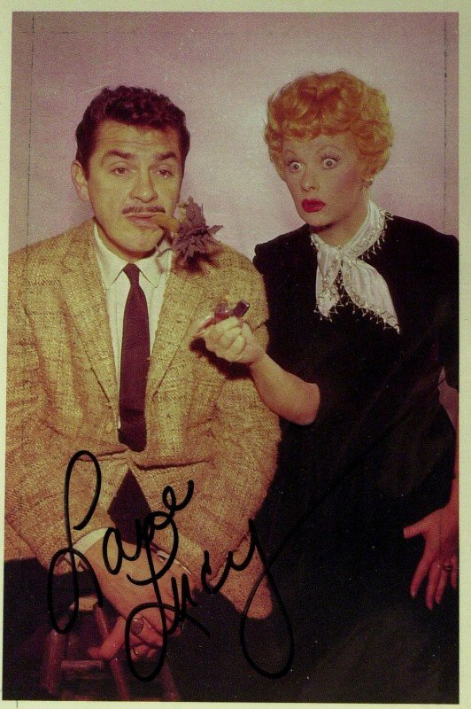 19: LUCILLE BALL - Photo with Ernie Kovacs