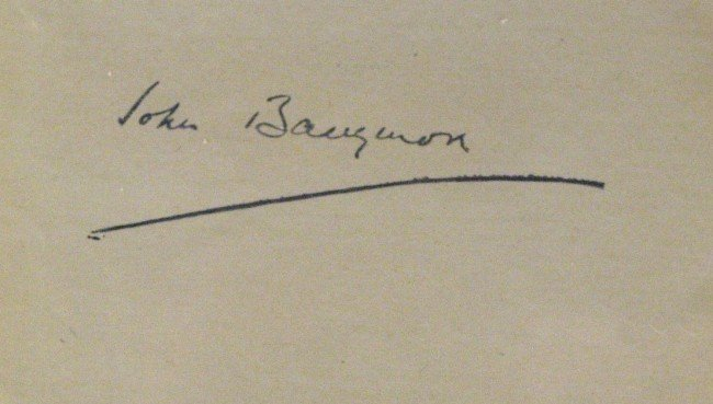 24: Great Stage Actor JOHN BARRYMORE - Album Signed