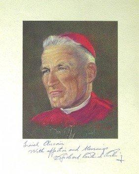 Boston Cardinal RICHARD CUSHING - Photo Signed