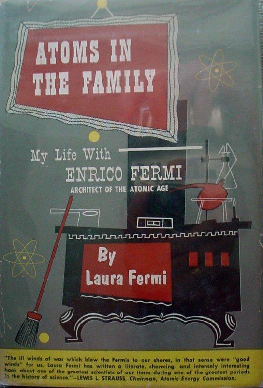 581: A-Bomb ENRICO FERMI - Book Signed - 2