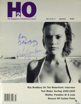 Author RAY BRADBURY - Magazine Signed