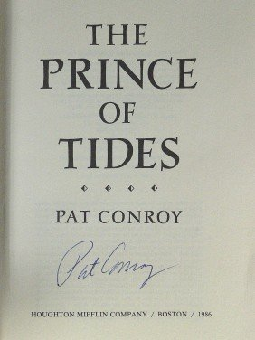 Author PAT CONROY - Prince Of Tides Signed, 1st