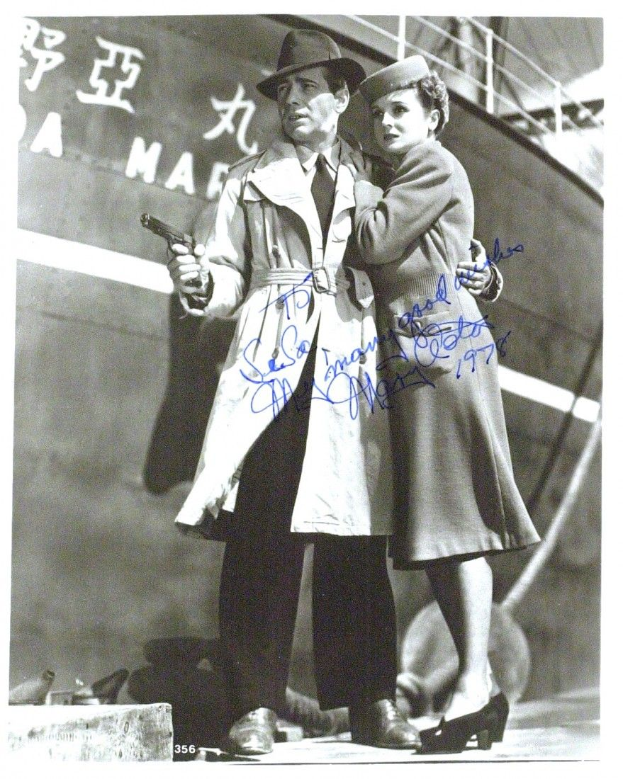 ActressMARY ASTOR - Maltese Falcon Photo Signed