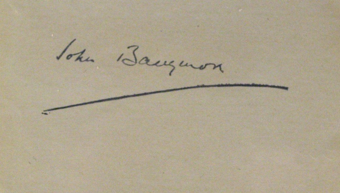 20: JOHN BARRYMORE - Album Page Signed