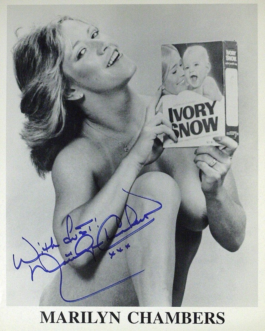 49: Porn Star MARILYN CHAMBERS - Photo Signed