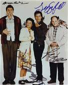 555 SEINFELD  Cast Signed Photo