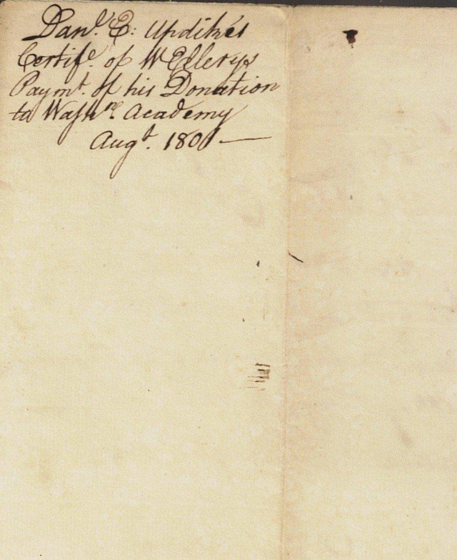 6: RI Signer of D of I WILLIAM ELLERY - Document Signed