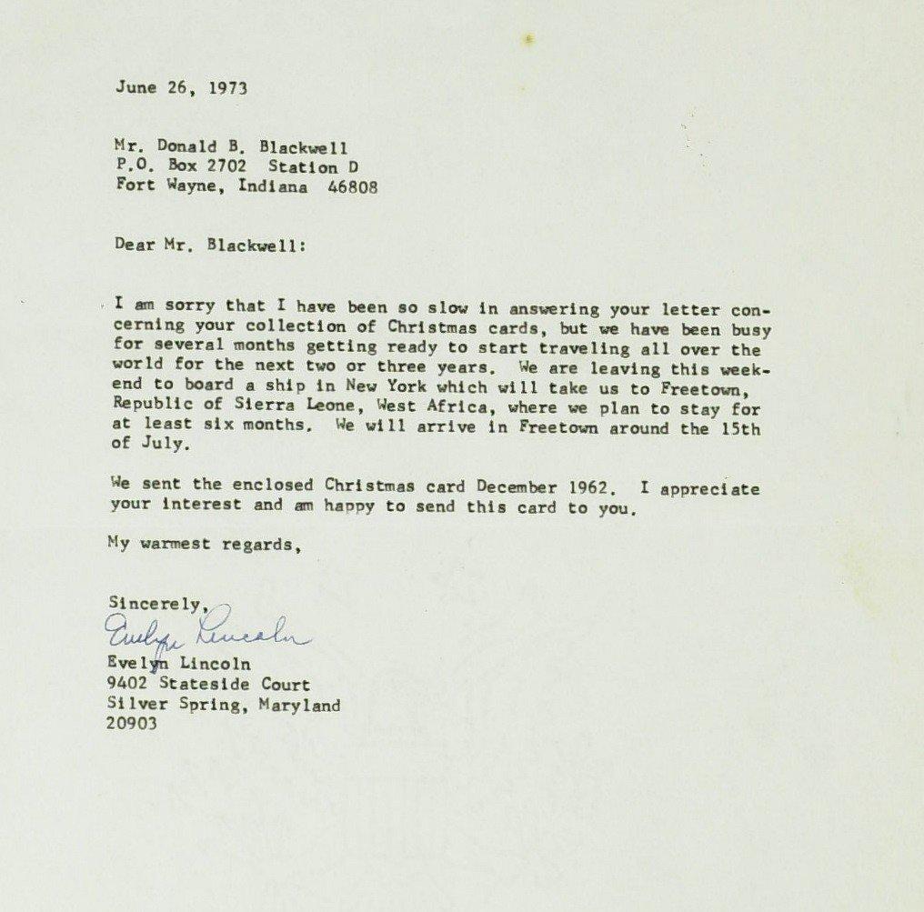 98: JFK's Secy EVELYN LINCOLN - TLS