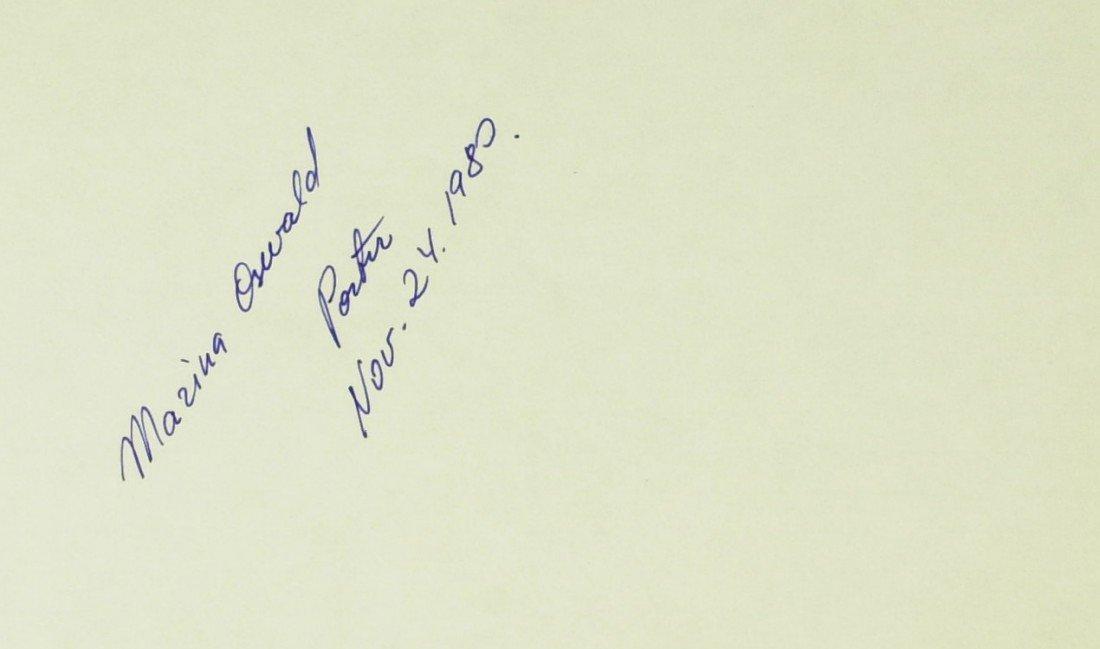 103: Lee Harvey's Widow MARINA OSWALD - Card