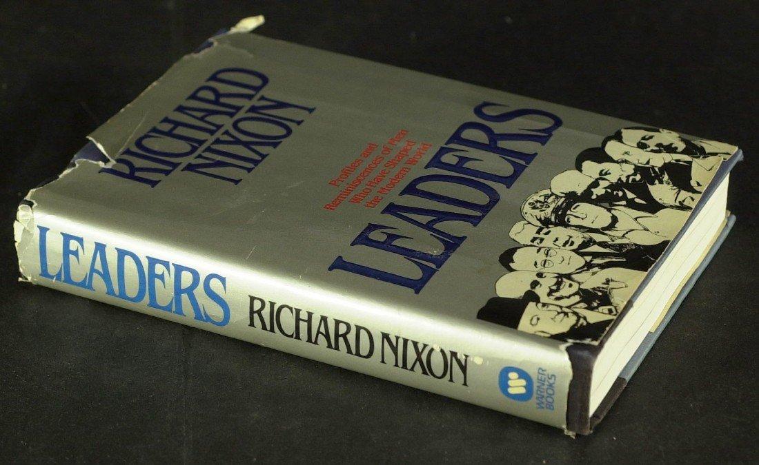 117: President RICHARD NIXON - His Book, Leaders Signed