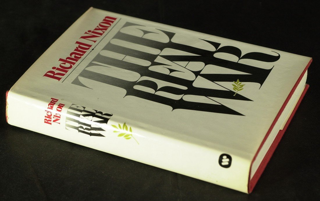 119: RICHARD M NIXON - His Book, The Real War