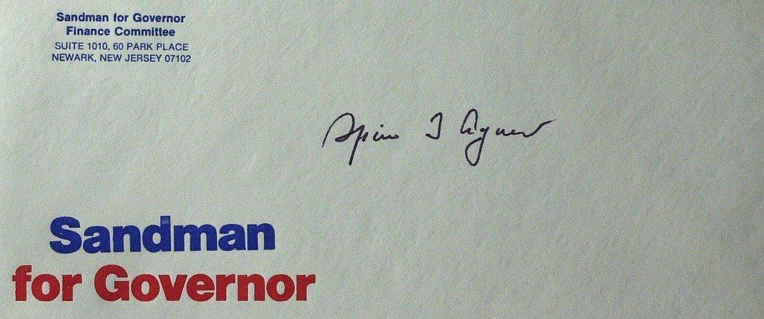 120: Nixon's VP SPIRO AGNEW - Special Postal Cover
