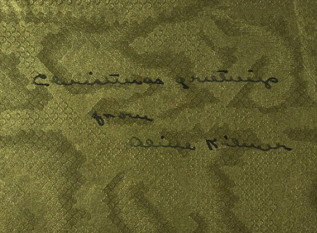 287: Trees Poet JOYCE KILMER - Matted Signature - 2