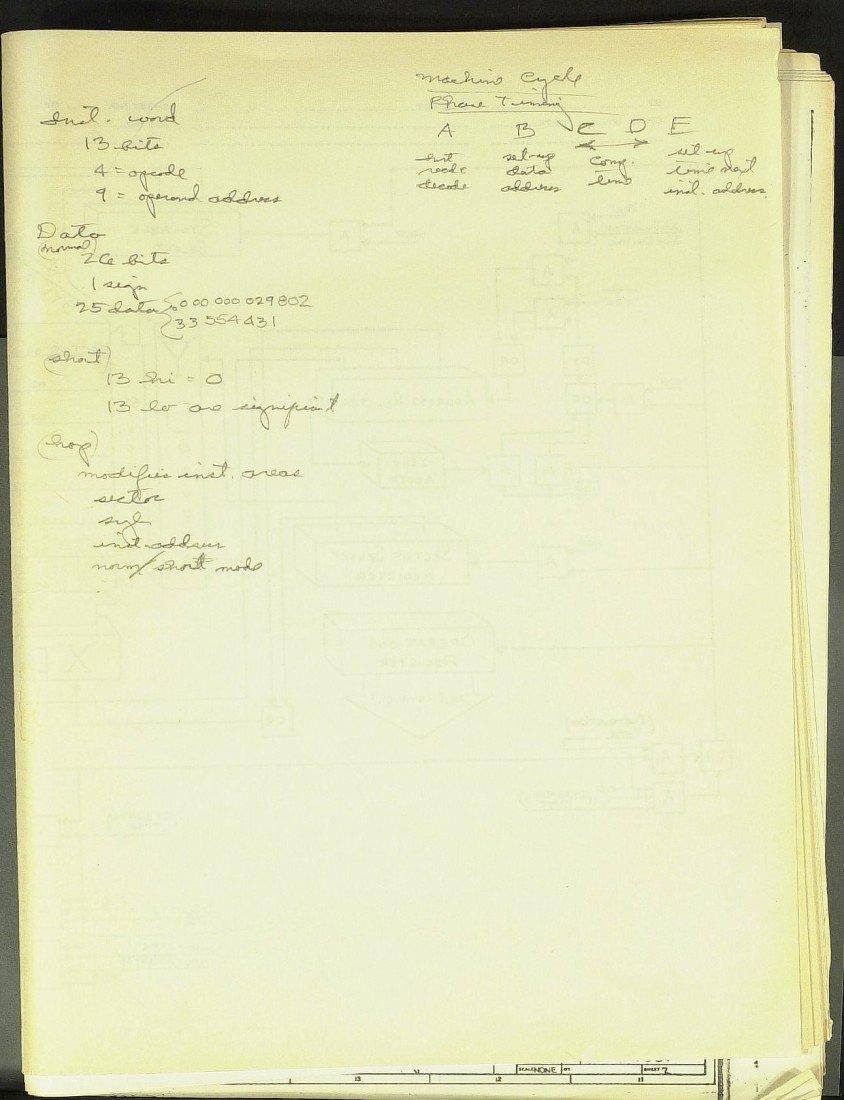 498: Mercury Astronaut DEKE SLAYTON - NASA Blueprints - 2