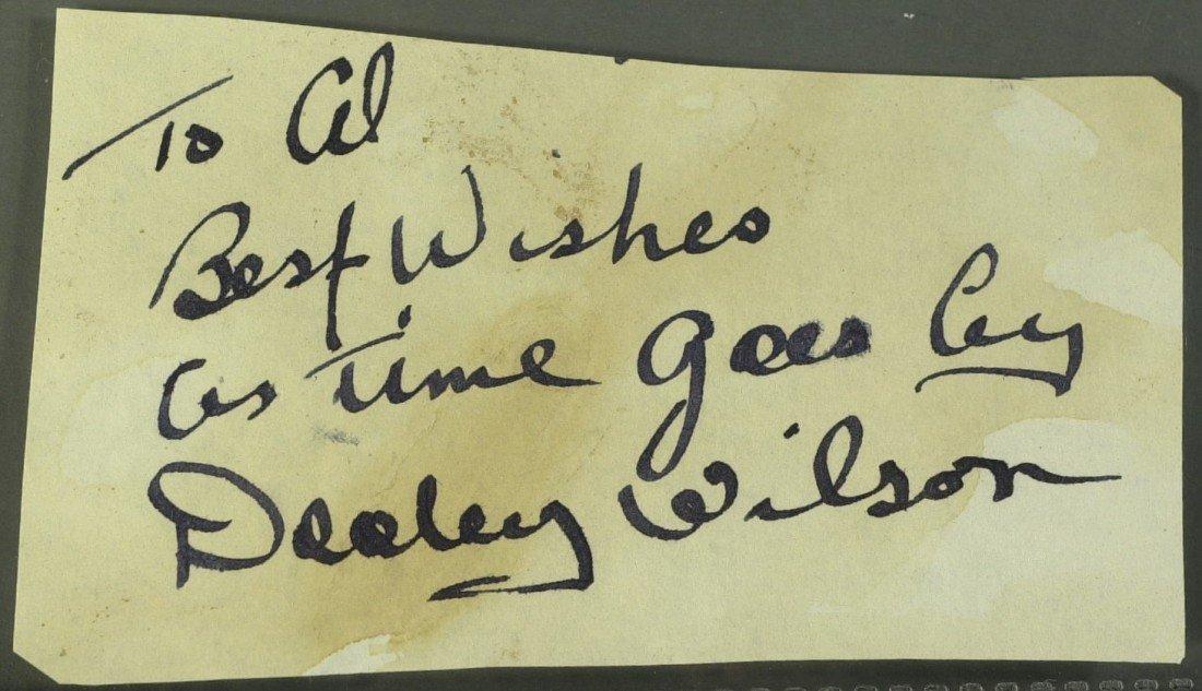 731: Casablanca Singer Sam, DOOLEY WILSON - Cut