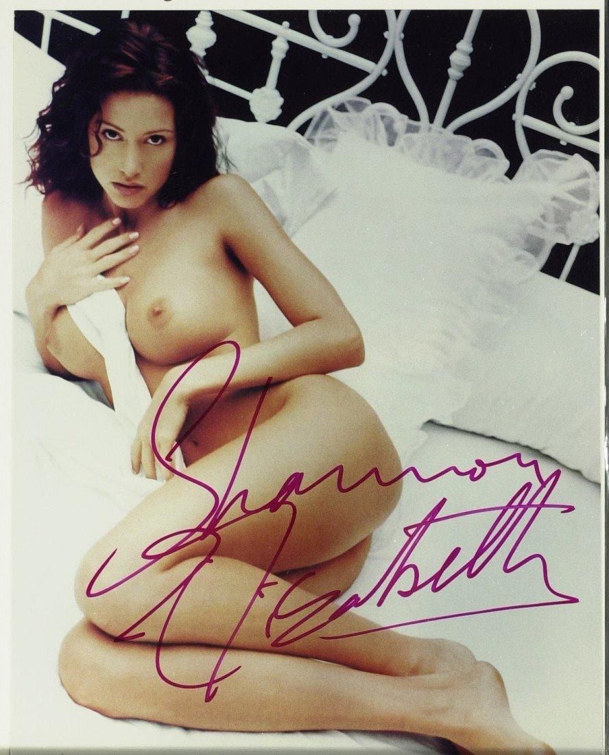786: Actress SHANNON ELIZABETH - Two Nude Photos - 2