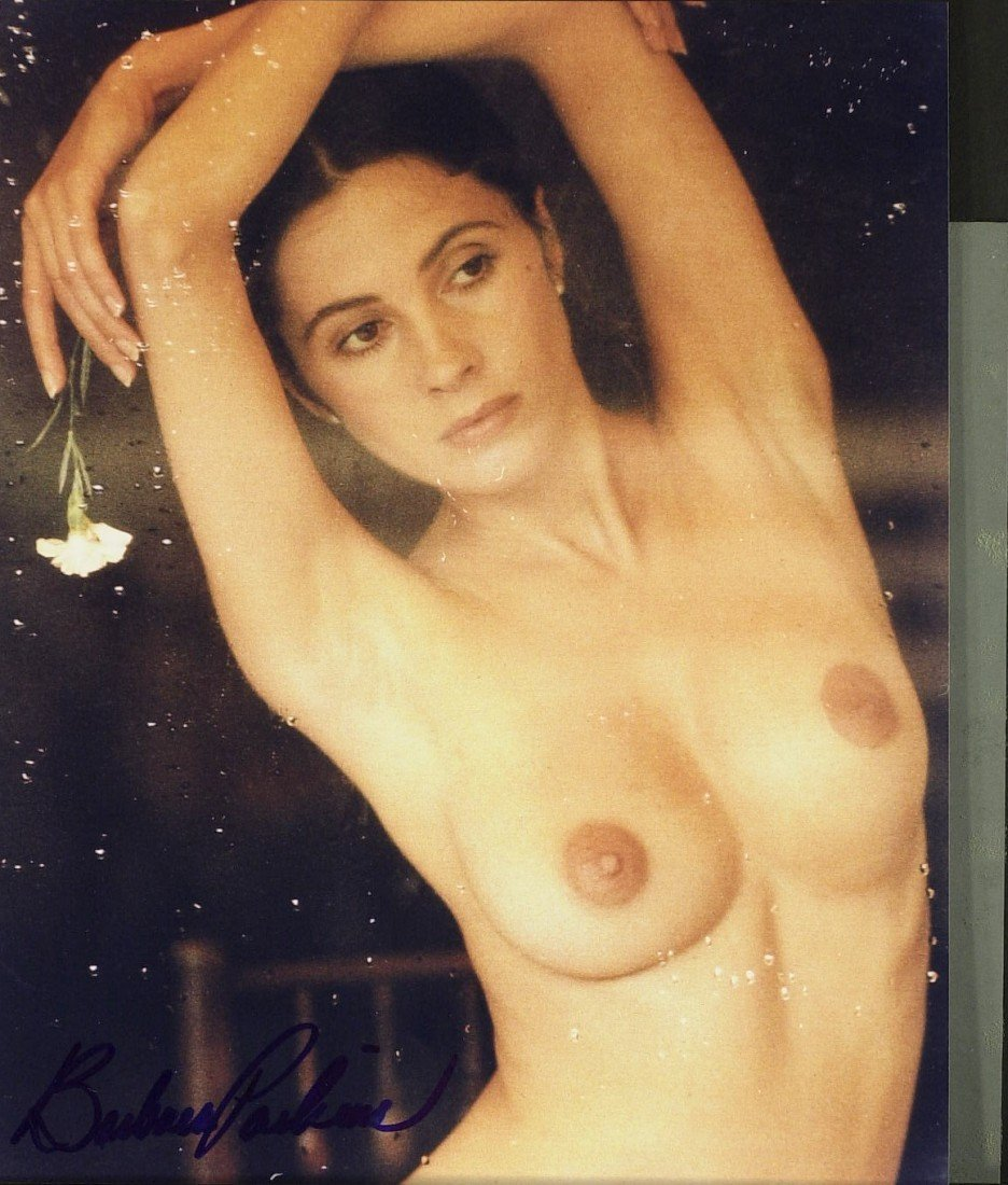 798: Actress BARBARA PARKINS - Topless Photo Signed