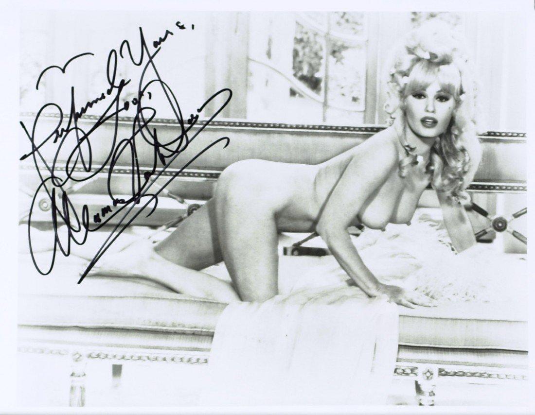 804: Actress MAMIE VAN DOREN - Nude Photo Signed