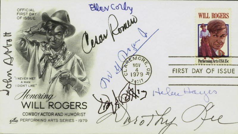 1008: 1st Day Postal Cover Signed by SEVEN - Incl Romar