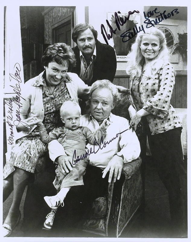 1014: TV's All in the Family - Cast Signed Photograph