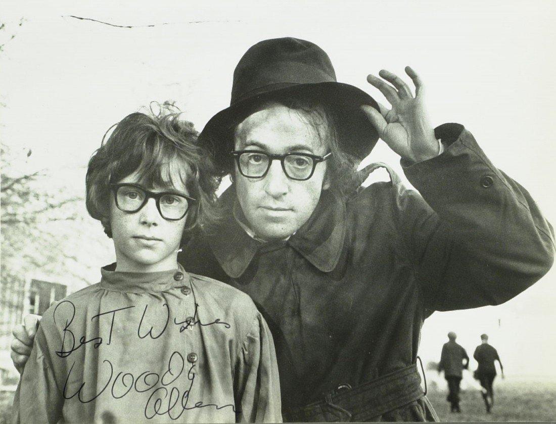 1015: Comedian, Director WOODY ALLEN - Photo Signed