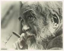 1180: Film Director JOHN HUSTON - Photo Signed