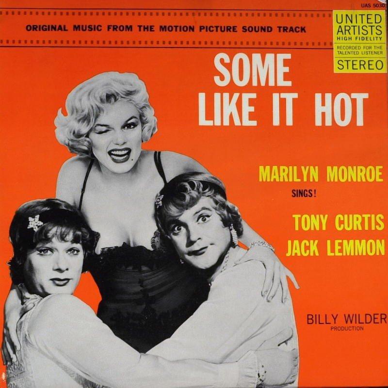1234: MARILYN MONROE & TONY CURTIS - Record Album