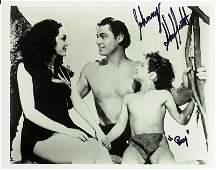 1315: Tarzan Boy Actor JOHNNY SHEFFIELD - Photo Signed
