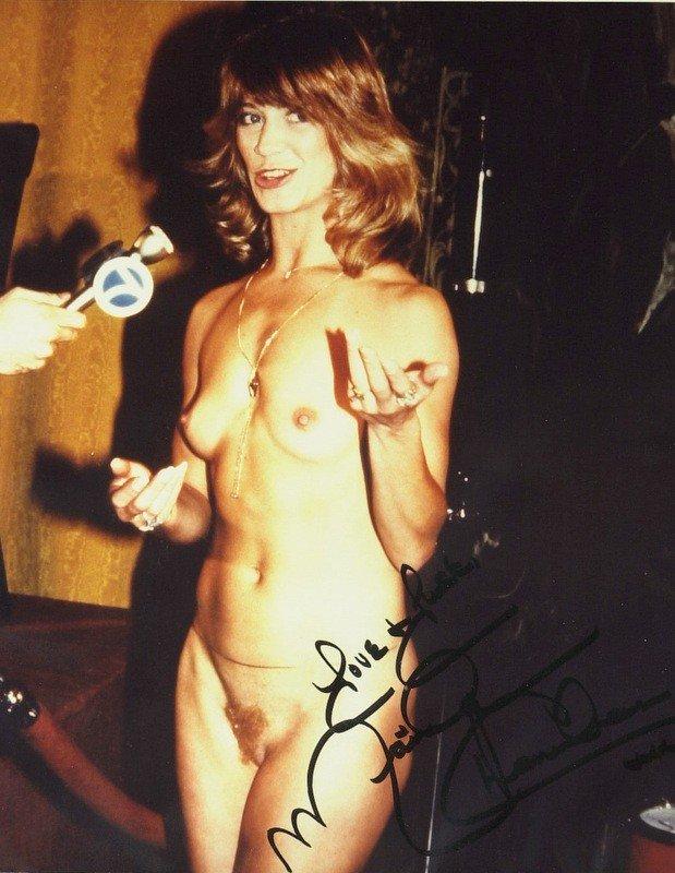 1383: Green Door MARILYN CHAMBERS - Color Nude Photo