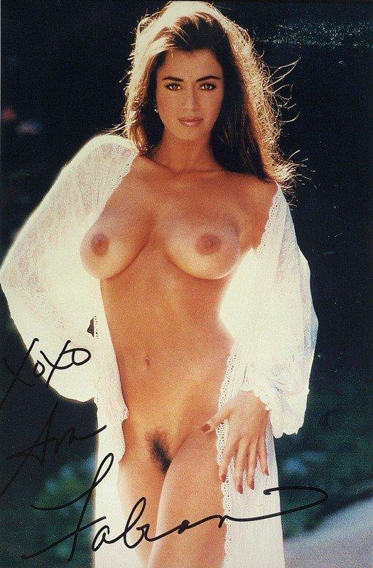 1394: Actress AVA FABIAN - Color Nude Photograh Signed